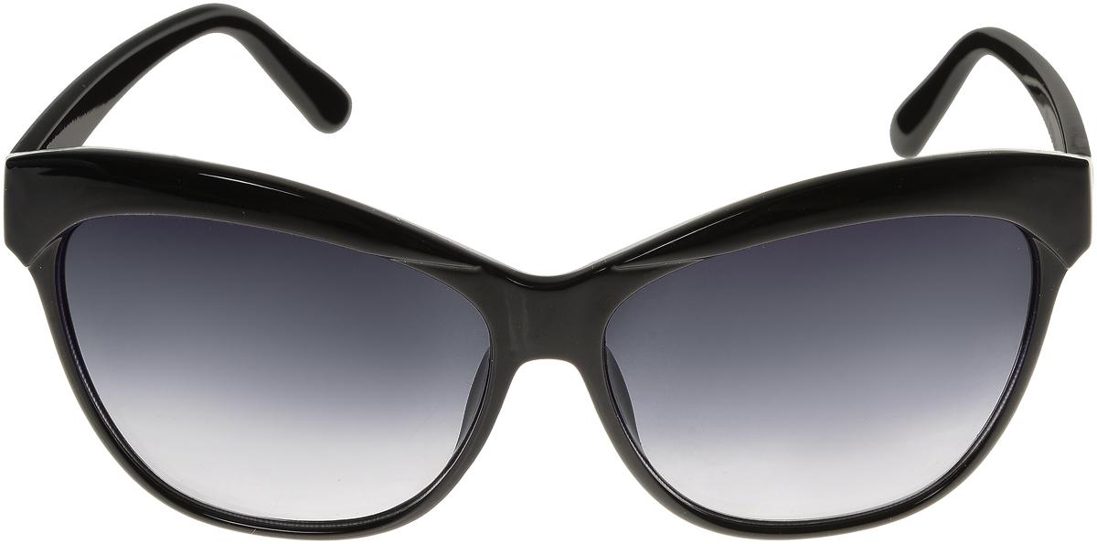 Очки солнцезащитные женские Vittorio Richi, цвет: черный. ОС1632с1/17f636.4000.10 RedЭлегантные солнцезащитные очки Vittorio Richi выполнены из высококачественного пластика. Пластик используемый при изготовлении линз не искажает изображение, не подвержен нагреванию и вредному воздействию солнечных лучей. Оправа очков легкая, прилегающей формы и поэтому обеспечивает максимальный комфорт. Такие очки защитят глаза от ультрафиолетовых лучей, подчеркнут вашу индивидуальность и сделают ваш образ завершенным.