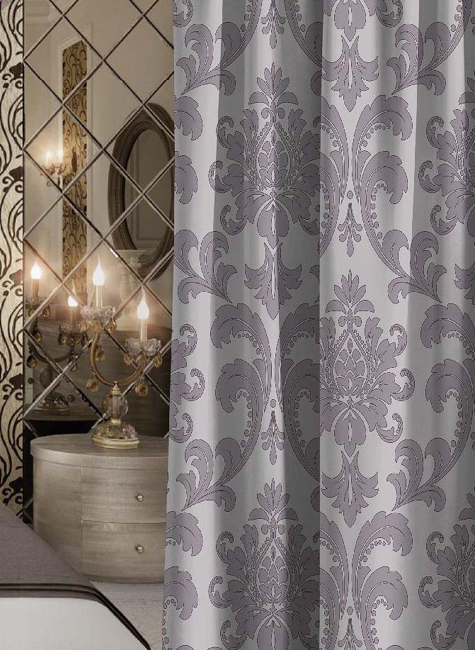 Штора Волшебная ночь Princely, на ленте, высота 270 см705502Шторы коллекции Волшебная ночь - это готовое решение для Вашего интерьера, гарантирующее красоту, удобство и индивидуальный стиль! Штора изготовлена из приятной на ощупь ткани ГАБАРДИН, которая плотно драпирует окно, но позволяет свету частично проникать внутрь. Длина шторы регулируется с помощью клеевой паутинки (в комплекте). Изделие крепится на вшитую шторную ленту: на крючки или путем продевания на карниз. Дизайнеры Марки предлагают уже сформированные комплекты штор из различных тканей и рисунков для создания идеальной композиции на окне. Для удобства выбора дизайны штор распределены в стилевые коллекции: ЭТНО, ВЕРСАЛЬ, ЛОФТ, ПРОВАНС. В коллекции Волшебная ночь к данной шторе Вы также сможете подобрать шторы из других тканей: БЛЭКАУТ (100% затемненение), сатен (частичное затемнение) и ВУАЛЬ (практически нулевое затемнение), которые будут прекрасно сочетаться по дизайну и обеспечат особый уют Вашему дому.