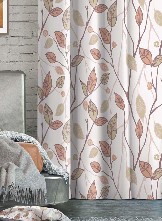 Штора Волшебная ночь Oriana, на ленте, высота 270 см705509Шторы коллекции Волшебная ночь - это готовое решение для Вашего интерьера, гарантирующее красоту, удобство и индивидуальный стиль! Штора изготовлена из приятной на ощупь ткани ГАБАРДИН, которая плотно драпирует окно, но позволяет свету частично проникать внутрь. Длина шторы регулируется с помощью клеевой паутинки (в комплекте). Изделие крепится на вшитую шторную ленту: на крючки или путем продевания на карниз. Дизайнеры Марки предлагают уже сформированные комплекты штор из различных тканей и рисунков для создания идеальной композиции на окне. Для удобства выбора дизайны штор распределены в стилевые коллекции: ЭТНО, ВЕРСАЛЬ, ЛОФТ, ПРОВАНС. В коллекции Волшебная ночь к данной шторе Вы также сможете подобрать шторы из других тканей: БЛЭКАУТ (100% затемненение), сатен (частичное затемнение) и ВУАЛЬ (практически нулевое затемнение), которые будут прекрасно сочетаться по дизайну и обеспечат особый уют Вашему дому.