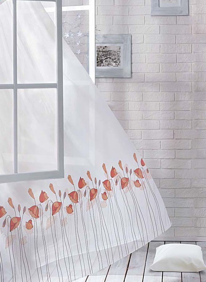Комплект штор Волшебная ночь Floral, на ленте, высота 270 см, 2 шт705487Шторы коллекции Волшебная ночь - это готовое решение для Вашего интерьера, гарантирующее красоту, удобство и индивидуальный стиль! Шторы изготовлены из тонкой и легкой ткани ВУАЛЬ, которая почти не препятствует прохождению света, но защищает комнату от посторонних взглядов. Длина штор регулируется с помощью клеевой паутинки (в комплекте). Изделия крепятся на вшитую шторную ленту: на крючки или путем продевания на карниз. Дизайнеры Марки предлагают уже сформированные комплекты штор из различных тканей и рисунков для создания идеальной композиции на окне. Для удобства выбора дизайны штор распределены в стилевые коллекции: ЭТНО, ВЕРСАЛЬ, ЛОФТ, ПРОВАНС. В коллекции Волшебная ночь к данной шторе Вы также сможете подобрать шторы из других тканей: БЛЭКАУТ (100% затемненение), сатен и ГАБАРДИН (частичное затемнение), которые будут прекрасно сочетаться по дизайну и обеспечат особый уют Вашему дому.