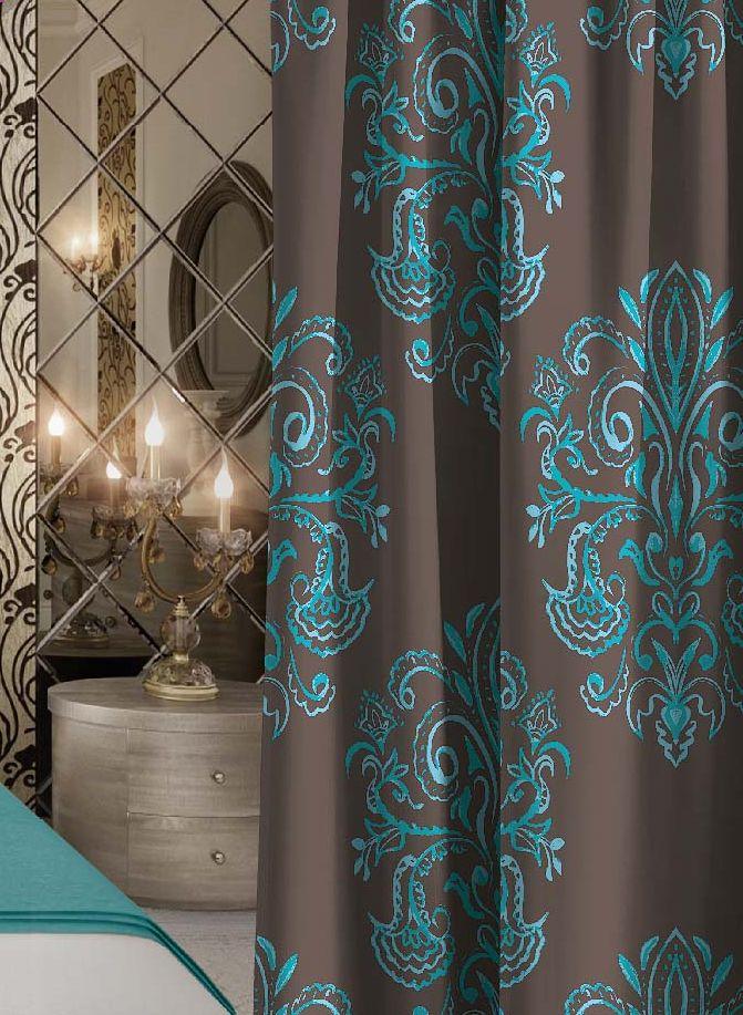 Штора Волшебная ночь Emerald Tale, на ленте, высота 270 см704525Шторы коллекции Волшебная ночь - это готовое решение для Вашего интерьера, гарантирующее красоту, удобство и индивидуальный стиль! Штора изготовлена из приятной на ощупь ткани ГАБАРДИН, которая плотно драпирует окно, но позволяет свету частично проникать внутрь. Длина шторы регулируется с помощью клеевой паутинки (в комплекте). Изделие крепится на вшитую шторную ленту: на крючки или путем продевания на карниз. Дизайнеры Марки предлагают уже сформированные комплекты штор из различных тканей и рисунков для создания идеальной композиции на окне. Для удобства выбора дизайны штор распределены в стилевые коллекции: ЭТНО, ВЕРСАЛЬ, ЛОФТ, ПРОВАНС. В коллекции Волшебная ночь к данной шторе Вы также сможете подобрать шторы из других тканей: БЛЭКАУТ (100% затемненение), сатен (частичное затемнение) и ВУАЛЬ (практически нулевое затемнение), которые будут прекрасно сочетаться по дизайну и обеспечат особый уют Вашему дому.