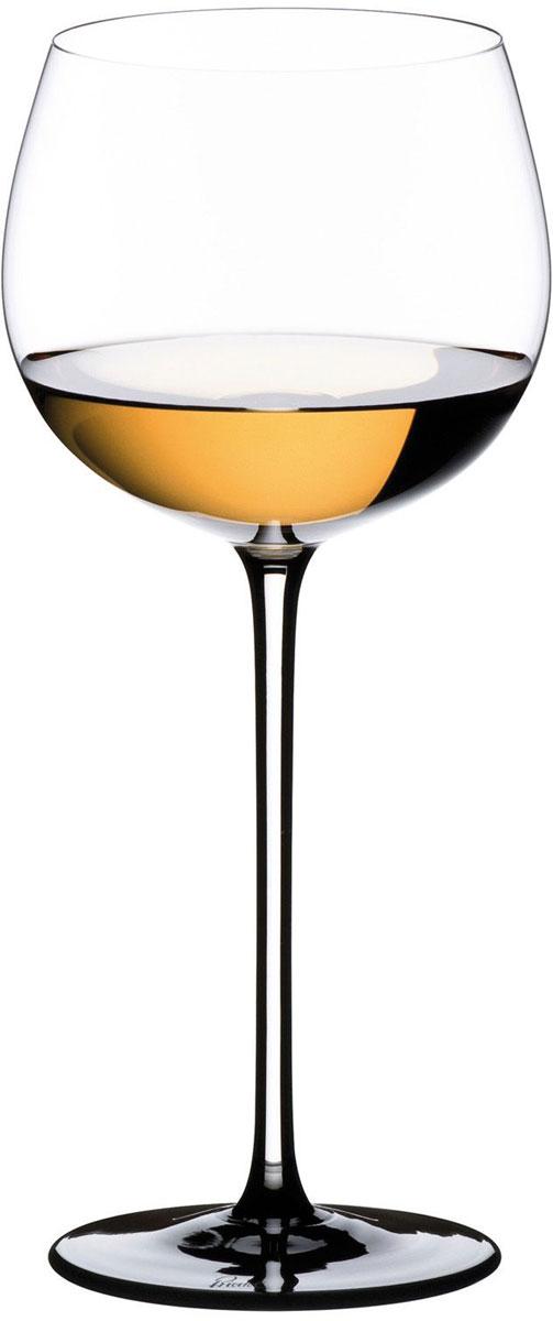 Фужер для белого вина Riedel Sommeliers Black Tie. Montrachet. Chardonnay, цвет: прозрачный, черный, 500 мл4100/07