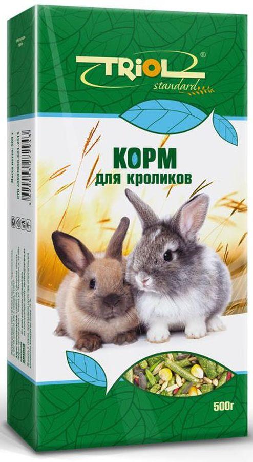 "Triol Корм Тriol ""Standard"" для кроликов, 500 г Кф-00800"