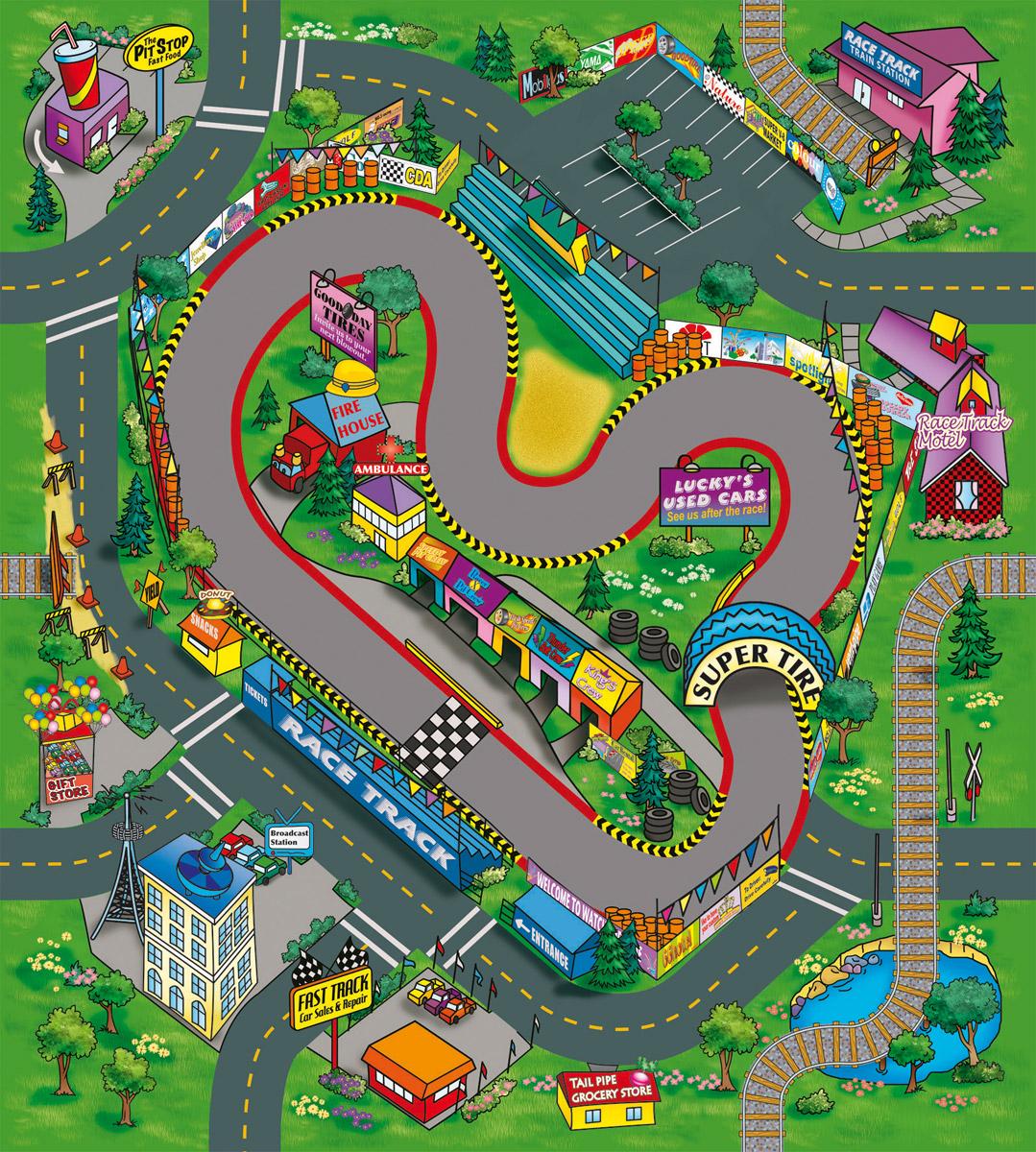 Dickie Toys Игровой набор Raсe Track