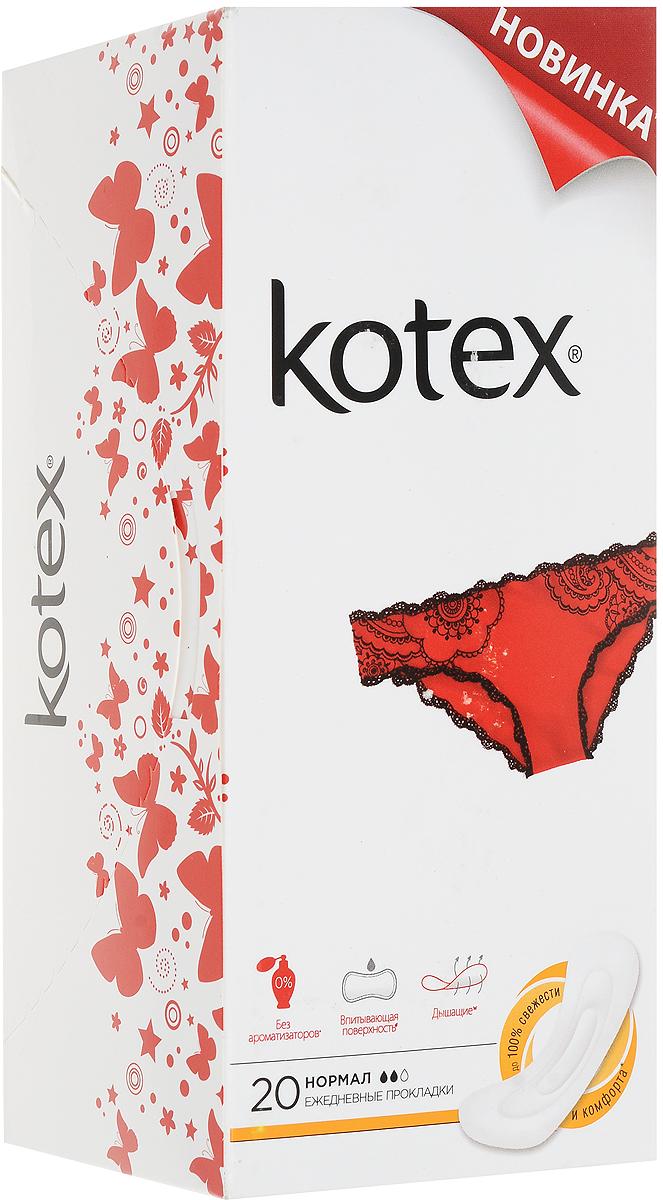 Kotex Ежедневные прокладки