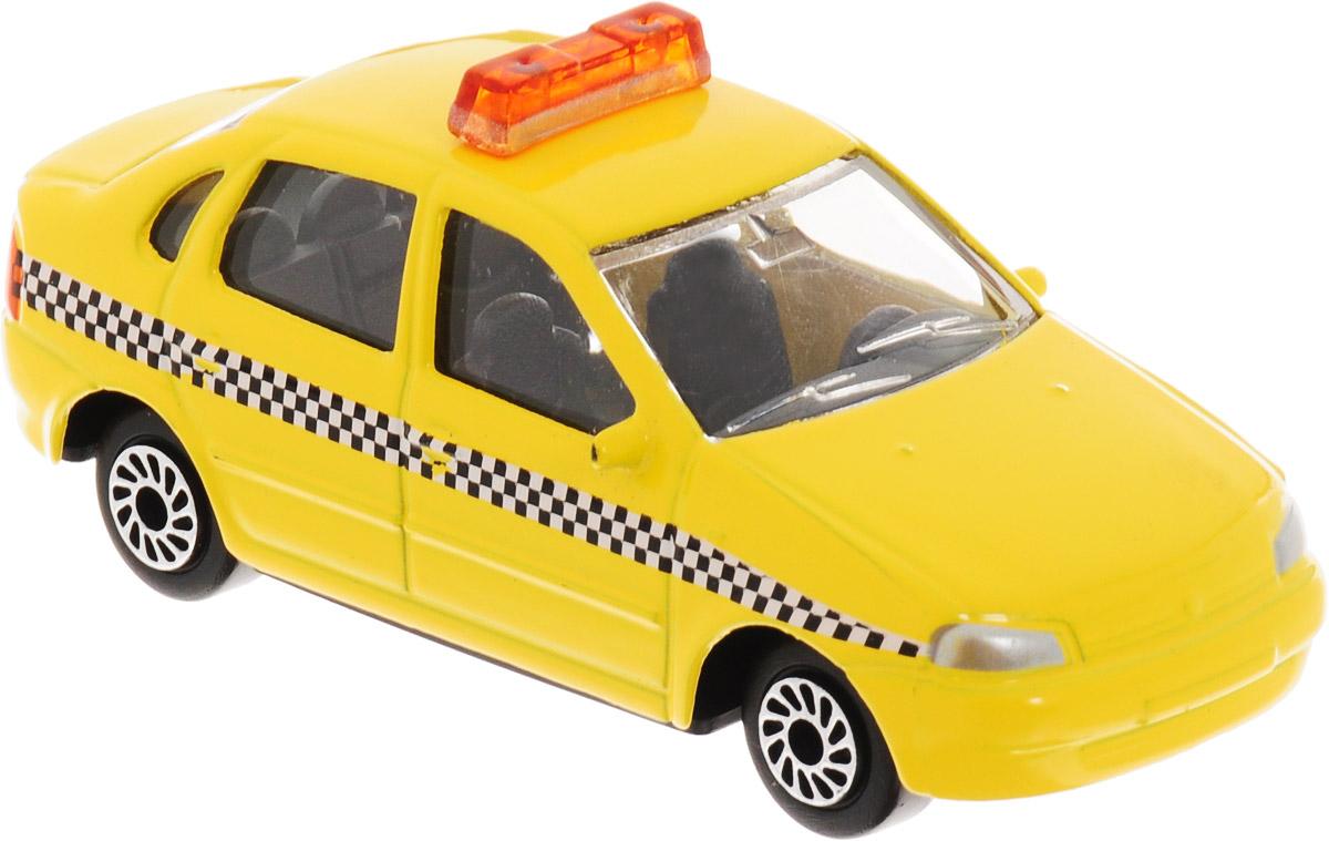 ТехноПарк Модель автомобиля Lada Kalina Такси цвет желтый