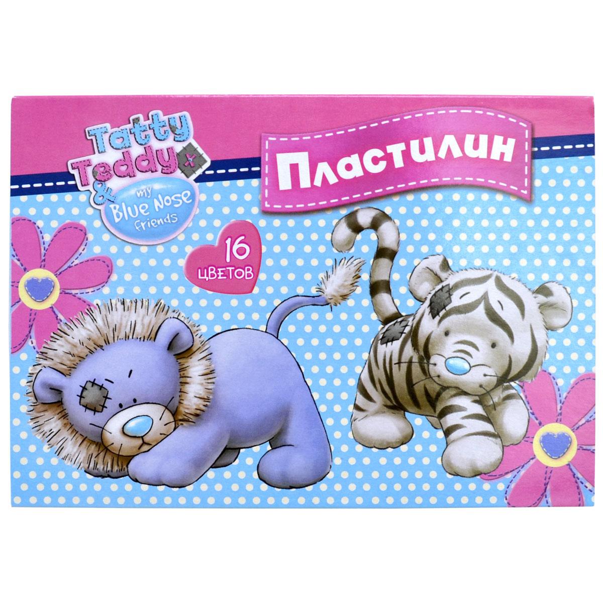 Action! Пластилин Tatty Teddy 16 цветов00-00007321Набор пластилина Action! Tatty Teddy поможет вашему малышу создавать не только прекрасные поделки, но и рисунки. Пластилин обладает особой мягкостью и пластичностью: легко разминается и моделируется детскими пальчиками, не пачкается, не прилипает к рукам и рабочей поверхности, не крошится, не высыхает и хорошо держит форму. Смешивайте цвета, экспериментируйте и развивайте малютку: лепка активно тренирует у ребенка мелкую моторику и умение работать пальчиками, развивает тактильное восприятие формы, веса и фактуры, совершенствует воображение и пространственное мышление.