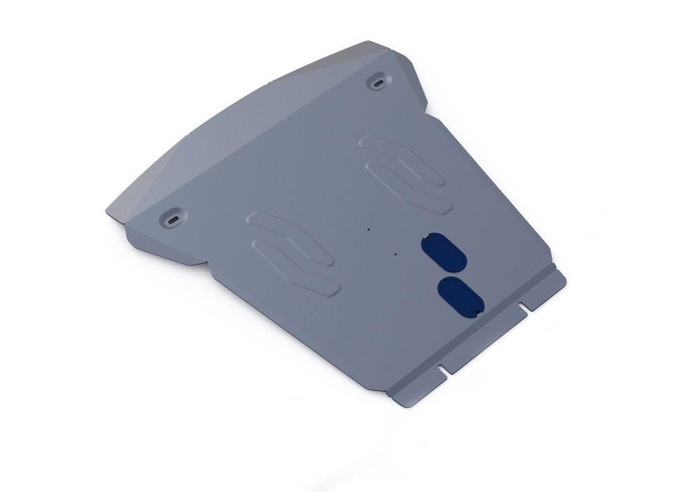 Защита картера Rival, для BMW X5, алюминий 4 мм333.0508.1Защита картера для BMW X5 , 30d; 35i; 40d 2007-2013 2013-, крепеж в комплекте, алюминий 4 мм, Rival Алюминиевые защиты картера Rival надежно защищают днище вашего автомобиля от повреждений, например при наезде на бордюры, а также выполняют эстетическую функцию при установке на высокие автомобили. - Толщина алюминиевых защит в 2 раза толще стальных, а вес при этом меньше до 30%. - Отлично отводит тепло от двигателя своей поверхностью, что спасает двигатель от перегрева в летний период или при высоких нагрузках. - В отличие от стальных, алюминиевые защиты не поддаются коррозии, что гарантирует срок службы защит более 5 лет. - Покрываются порошковой краской, что надолго сохраняет первоначальный вид новой защиты и защищает от гальванической коррозии. - Глубокий штамп дополнительно усиливает конструкцию защиты. - Подштамповка в местах крепления защищает крепеж от срезания. - Технологические отверстия там,...