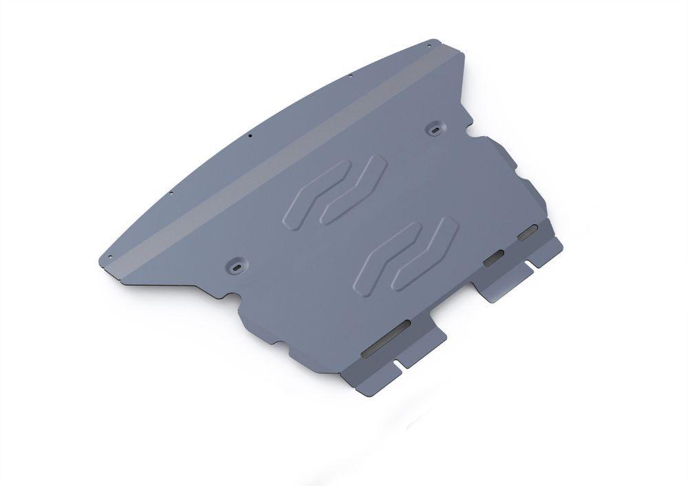 Защита картера Rival, для BMW X1, алюминий 4 мм333.0519.1Защита картера для BMW X1 2WD , 18i 2009-2015, крепеж в комплекте, алюминий 4 мм, Rival Алюминиевые защиты картера Rival надежно защищают днище вашего автомобиля от повреждений, например при наезде на бордюры, а также выполняют эстетическую функцию при установке на высокие автомобили. - Толщина алюминиевых защит в 2 раза толще стальных, а вес при этом меньше до 30%. - Отлично отводит тепло от двигателя своей поверхностью, что спасает двигатель от перегрева в летний период или при высоких нагрузках. - В отличие от стальных, алюминиевые защиты не поддаются коррозии, что гарантирует срок службы защит более 5 лет. - Покрываются порошковой краской, что надолго сохраняет первоначальный вид новой защиты и защищает от гальванической коррозии. - Глубокий штамп дополнительно усиливает конструкцию защиты. - Подштамповка в местах крепления защищает крепеж от срезания. - Технологические отверстия там, где они...