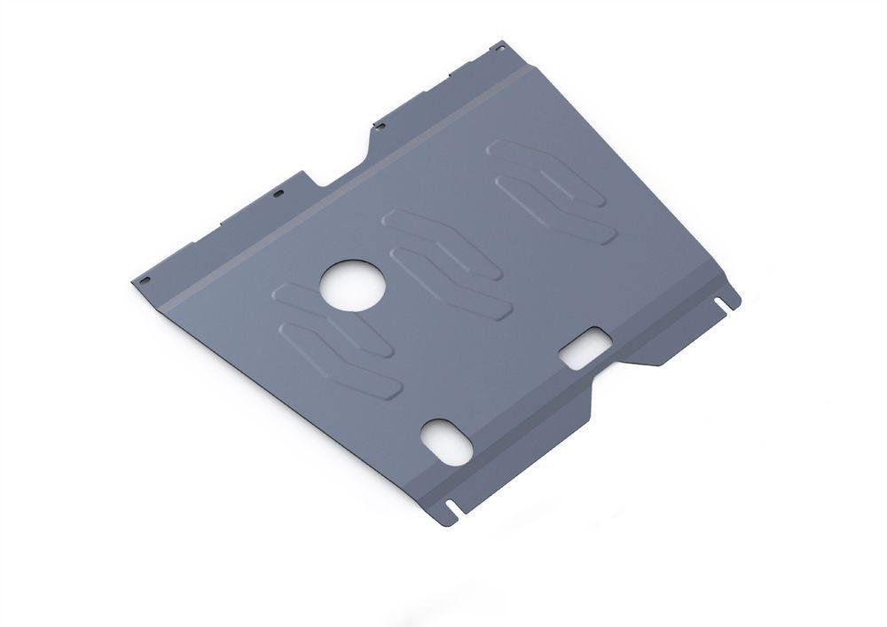 Защита картера и КПП Rival, для Hyundai Sonata, алюминий 4 мм. 333.2320.2333.2320.2Защита картера и КПП для Hyundai Sonata , V - 2,0 2010-2013, крепеж в комплекте, алюминий 4 мм, Rival Алюминиевые защиты картера Rival надежно защищают днище вашего автомобиля от повреждений, например при наезде на бордюры, а также выполняют эстетическую функцию при установке на высокие автомобили. - Толщина алюминиевых защит в 2 раза толще стальных, а вес при этом меньше до 30%. - Отлично отводит тепло от двигателя своей поверхностью, что спасает двигатель от перегрева в летний период или при высоких нагрузках. - В отличие от стальных, алюминиевые защиты не поддаются коррозии, что гарантирует срок службы защит более 5 лет. - Покрываются порошковой краской, что надолго сохраняет первоначальный вид новой защиты и защищает от гальванической коррозии. - Глубокий штамп дополнительно усиливает конструкцию защиты. - Подштамповка в местах крепления защищает крепеж от срезания. - Технологические отверстия там,...