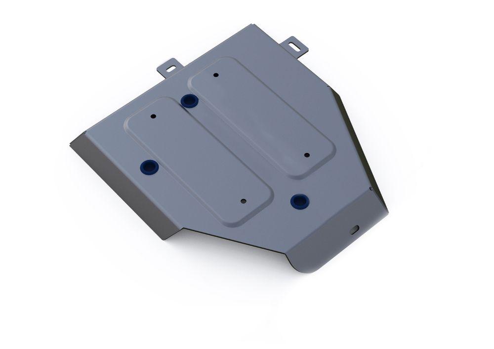 Защита топливного бака Rival, для Hyundai ix35, алюминий 4 мм2706 (ПО)Защита топливного бака для Hyundai ix35 , V - все 2010-2015, крепеж в комплекте, алюминий 4 мм, Rival Алюминиевые защиты картера Rival надежно защищают днище вашего автомобиля от повреждений, например при наезде на бордюры, а также выполняют эстетическую функцию при установке на высокие автомобили. - Толщина алюминиевых защит в 2 раза толще стальных, а вес при этом меньше до 30%. - Отлично отводит тепло от двигателя своей поверхностью, что спасает двигатель от перегрева в летний период или при высоких нагрузках. - В отличие от стальных, алюминиевые защиты не поддаются коррозии, что гарантирует срок службы защит более 5 лет. - Покрываются порошковой краской, что надолго сохраняет первоначальный вид новой защиты и защищает от гальванической коррозии. - Глубокий штамп дополнительно усиливает конструкцию защиты. - Подштамповка в местах крепления защищает крепеж от срезания. - Технологические отверстия там, где они необходимы для смены масла и слива воды, оборудованные заглушками, надежно закрепленными на защите. Уважаемые клиенты! Обращаем ваше внимание, на тот факт, что защита имеет форму, соответствующую модели данного автомобиля. Фото служит для визуального восприятия товара.