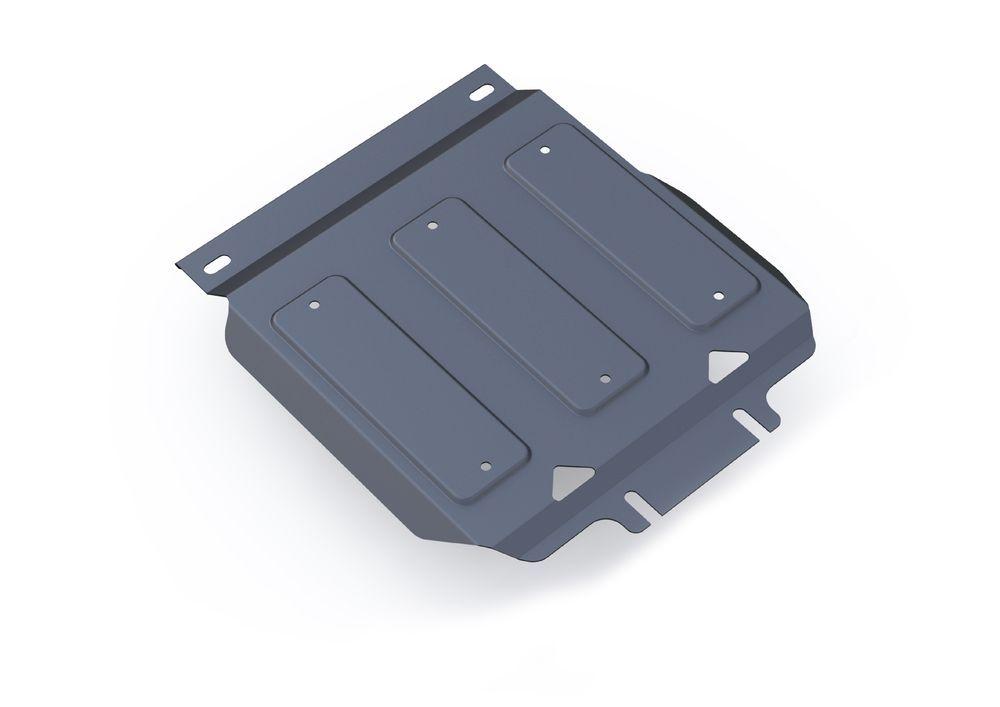 Защита картера Rival, для Infiniti QX80, Infiniti QX56, Nissan Patrol, алюминий 4 мм333.4122.1Защита картера для Infiniti QX80, V - 5,6 2013-; Infiniti QX56 , V - 5,6 2010-2013; Nissan Patrol , V - 5,6 2010-, крепеж в комплекте, алюминий 4 мм, Rival Алюминиевые защиты картера Rival надежно защищают днище вашего автомобиля от повреждений, например при наезде на бордюры, а также выполняют эстетическую функцию при установке на высокие автомобили. - Толщина алюминиевых защит в 2 раза толще стальных, а вес при этом меньше до 30%. - Отлично отводит тепло от двигателя своей поверхностью, что спасает двигатель от перегрева в летний период или при высоких нагрузках. - В отличие от стальных, алюминиевые защиты не поддаются коррозии, что гарантирует срок службы защит более 5 лет. - Покрываются порошковой краской, что надолго сохраняет первоначальный вид новой защиты и защищает от гальванической коррозии. - Глубокий штамп дополнительно усиливает конструкцию защиты. - Подштамповка в местах крепления защищает крепеж...