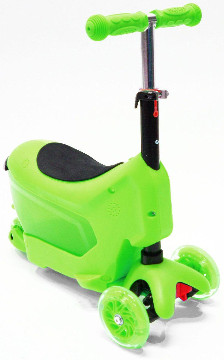 Самокат Hubster Comfort, цвет: зеленыйво2277Вес: 2 кг. Упаковка: 59 x 26 x 20 см (0,03 м3). Возраст oт 2 до 5 лет. Максимальная нагрузка до 50 кг. Уникальное рулевое управление. Высота руля: 50-72 см.