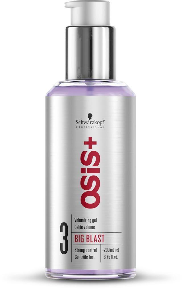 OSiS+ Гель для объема волос Big Blast 200 мл1971034Легкий гель для объема. Потрясающий длительный объем, сильная фиксация, объем от корней, естественное ощущение волос.