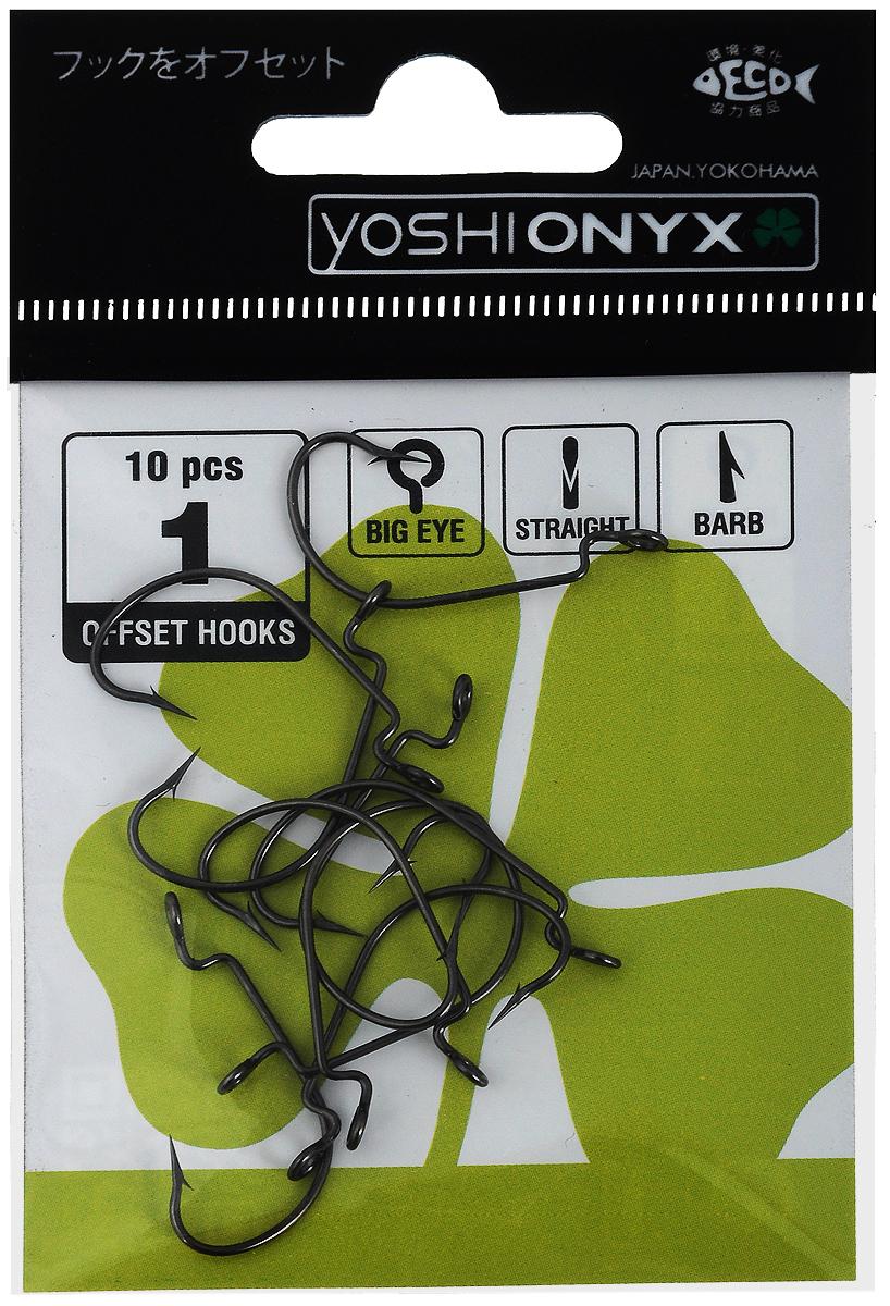 Крючки офсетные Yoshi Onyx