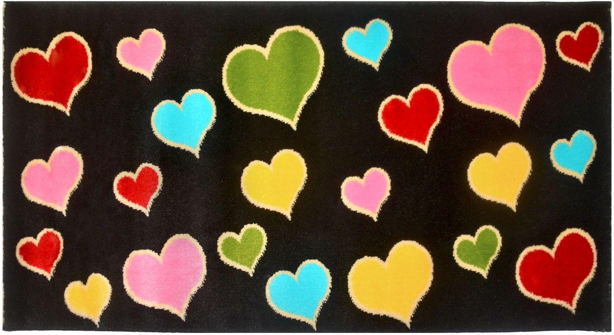 Ковер детский Kamalak Tekstil, 60 х 110 см. УКД-2048УКД-2048Детский ковер Kamalak Tekstil изготовлен из высококачественного полипропилена. Полипропилен износостоек, нетоксичен, не впитывает влагу, не провоцирует аллергию. Структура волокна в полипропиленовых коврах гладкая, поэтому грязь не будет въедаться и скапливаться на ворсе. Практичный и износоустойчивый ворс не истирается и не накапливает статическое электричество. Ковер обладает хорошими показателями теплостойкости и шумоизоляции. Оригинальный рисунок позволит гармонично оформить интерьер детской комнаты. За счет невысокого ворса ковер легко чистить. При надлежащем уходе синтетический ковер прослужит долго, не утратив ни яркости узора, ни блеска ворса, ни упругости. Самый простой способ избавить изделие от грязи - пропылесосить его с обеих сторон (лицевой и изнаночной). Влажная уборка с применением шампуней и моющих средств не противопоказана. Хранить рекомендуется в свернутом рулоном виде.
