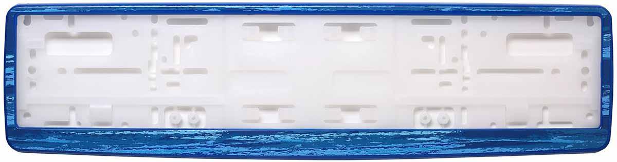 Рамка для номера Концерн Знак Морской бриз, цвет: синийЗ0000016243Рамка для номера. Предназначена для крепления государственного регистрационного знака. Материал основания - полипропилен, материал лицевой панели ABS-пластик.