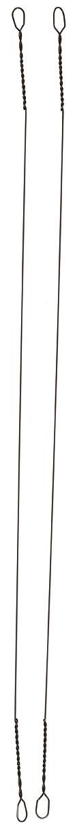 Поводок рыболовный Yoshi Onyx Wire Leader Titanium String, 0,35 мм, 15 см, 2 шт03/1/12Титановые поводки Yoshi Onyx надежны, быстро монтируются и могут достойно противостоять щучьим атакам, не давая хищнику срезать приманку. Такие поводки отлично сработают и при проведении объемных приманок через заросли и кувшинки, при анимации крупных джерков или мягкой резины. С одинаковой вероятностью на приманку, оснащенную тонким струнным поводком, может пойматься и щука, и голавль, и жерех с язем. Отсутствие слабых звеньев исключает возможность схода хищника. Большинство рыболовов применяет поводок-струну и вовсе без дополнительной оснастки. Крепления при таком способе производятся методом скрутки. Для монтажа приманки просто нужно раскрутить косичку. Следует с вниманием отнестись при подобном креплении поводка к плетеному шнуру - если диаметр струны будет меньше диаметра шнура, то велика вероятность, что поводок будет резать плетенку. Титановые поводки применяются в ловле от ультралайтового класса до джерка или нахлыста. Благодаря тому, что титан имеет вдвое меньший вес по сравнению со сталью, это способствует уменьшению влияния поводка на плавучесть даже миниатюрных приманок. Поводки этого типа можно отнести к сверхживучим. При применении титановых поводков полностью исключается вероятность негативного влияния коррозионного воздействия, так что даже если вы сложили свои поводки, не высушив их предварительно, нет причин для беспокойства - поводки из титана не заржавеют.