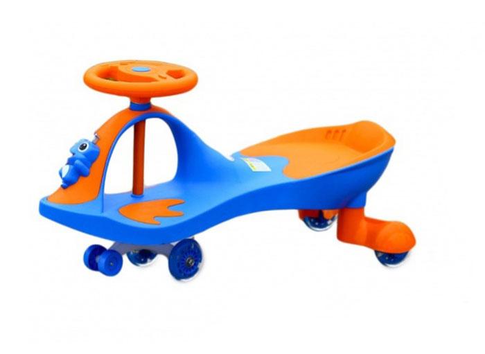 Bradex Машинка детская Бибикар-Лягушонок с полиуретановыми колесами цвет синий DE 0270_синий