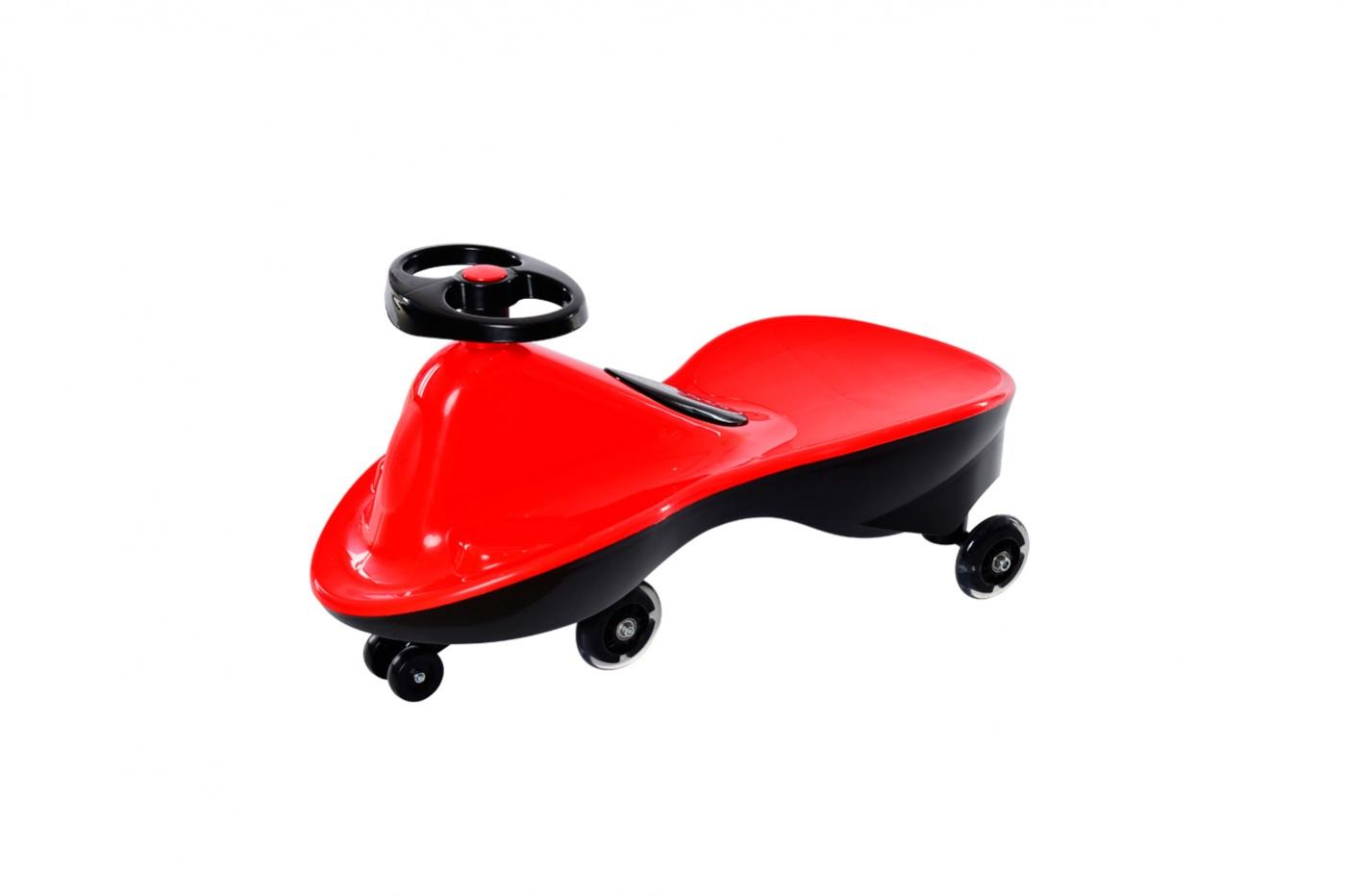 Bradex Машинка детская Бибикар Спорт с полиуретановыми колесами цвет красный