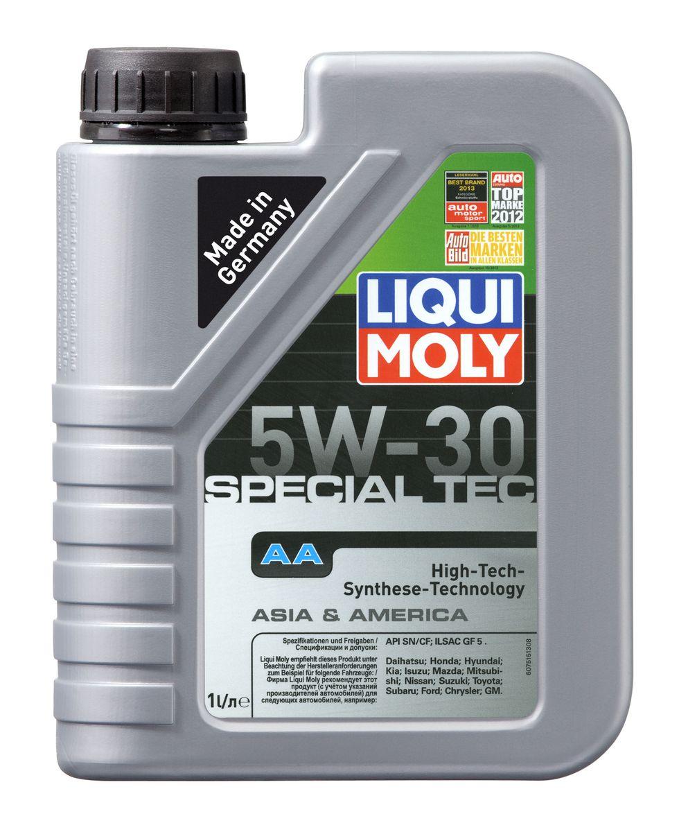 Масло моторное Liqui Moly Special Tec AA, НС-синтетическое, 5W-30, 1 л7515Масло моторное Liqui Moly Special Tec AA рекомендуется для автомобилей Honda, Mazda, Mitsubishi, Nissan, Daihatsu, Hyundai, Kia, Isuzu, Suzuki, Toyota, Subaru, Ford, Chrysler, GM. Современное HC-синтетическое энергосберегающее моторное масло специально разработано для всесезонного использования в большинстве двигателей современных американских и азиатских бензиновых автомобилей. Базовые масла, полученные по технологии синтеза, и новейшие присадки составляют рецептуру моторного масла с отменной защитой от износа, снижающего расход топлива и масла, обеспечивающего чистоту двигателя и максимально быстрое поступление к трущимся деталям. Особенности: - Быстрое поступление масла ко всем деталям двигателя при низких температурах - Высочайшие показатели топливной экономии - Сокращает эмиссию выхлопных газов - Отличная чистота двигателя - Совместимо с новейшими системами нейтрализации отработавших газов бензиновых двигателей - Высокая...