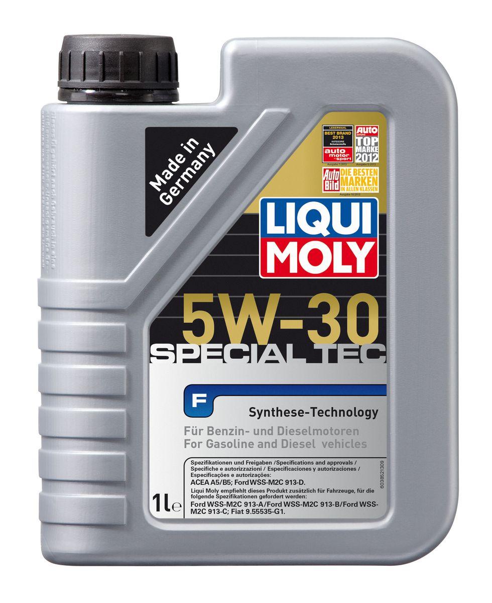 Масло моторное Liqui Moly Special Tec F, НС-синтетическое, 5W-30, 1 л8063Масло моторное Liqui Moly Special Tec F рекомендуется для широкого спектра двигателей Ford, особенно для легкого коммерческого транспорта. Моторное масло на основе НС-синтетической технологии. Оптимально для современных бензиновых и дизельных двигателей, в том числе многоклапапанных, с системой управления фазами газораспределения, турбонаддувом, охлаждением наддувочного воздуха (LLK), фильтром сажевых частиц (DPF). Благодаря комбинации НС-синтетических базовых масел и самых современных присадок моторные масла Special Tec F обеспечивают исключительную защиту от износа, снижение расхода топлива и стабильное быстрое поступление масла ко всем деталям двигателя. Удовлетворяет требованиям новейшей спецификации Ford WSS-M2C913-D. Особенности: - Быстрое поступление масла ко всем деталям двигателя при низких температурах - Высочайшие показатели топливной экономии - Замечательные смазывающие свойства - Хорошая стабильность к старению и...