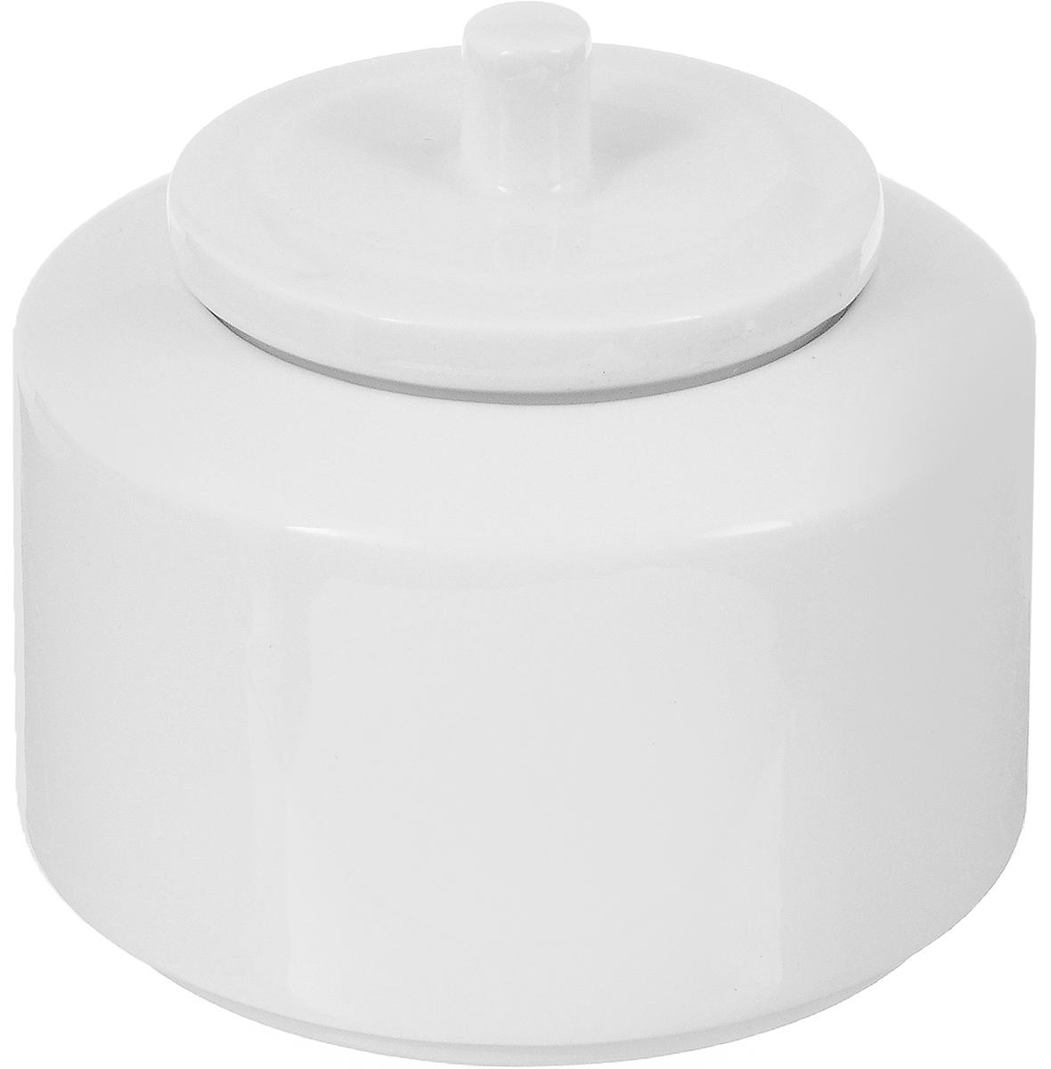 Сахарница Ariane Прайм, 270 мл115610Сахарница Ariane Прайм выполнена из высококачественного фарфора с глазурованным покрытием. Изделие имеет элегантную форму и может использоваться в качестве креманки. Десерт, поданный в такой посуде, будет ещё более сладким. Сахарница Ariane Прайм станет отличным дополнением к сервировке семейного стола и замечательным подарком для ваших родных и друзей.Можно мыть в посудомоечной машине и использовать в микроволновой печи. Диаметр (по верхнему краю): 6,5 см. Высота (без учета крышки): 6 см.