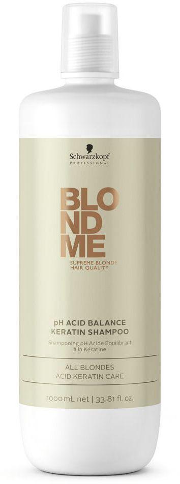 Blondme Шампунь с кислым PH Blondme Shampoo All Blondes 1000 мл1812131БлондМи Шампунь с кислым PH. Помогает нейтрализовать уровень РН после процесса осветления волос. Шампунь приводит к природному балансу структуру волос и усиливает чистоту оттенков блонд за счет яркого. трехмерного блеска. Рекомендуется использовать в комплексе с маской BM Blonde All Blondes