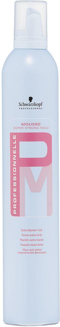 Professionnelle Мусс для укладки 500 мл4605845001470Мусс для волос суперсильной фиксации. Идеально подходит как для творческого стайлинга, так и для классических причесок. Обеспечивает сильную и надежную фиксацию. Не пересушивает волосы. Придает волосам блеск и шелковистость. Обладает нейтральным запахом