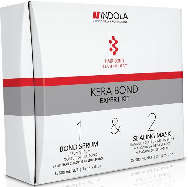 Indola Kera Bond Экспертный Набор 500/500/500 мл2076878В набор входит: Шаг 1 Bond Serum 500 мл - 1 шт.; Шаг 2 Sealing Mask 500 мл - 2 шт. Двух ступенчатая технология Kera Bond - это инновационная технология Hair Bond Technology, современный ассортимент продуктов против ломкости волос, предотвращающий повреждение волос во время химических процедур и значительно улучшающий качество волос, даже ранее окрашенных.