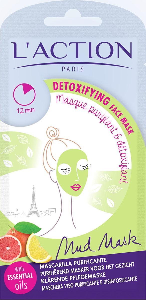 L'action Маска для лица от токсинов Detoxifiant, 15 г