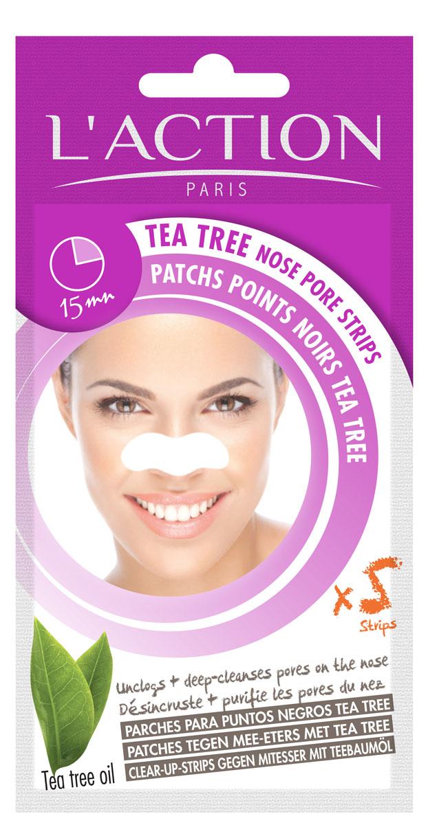 Laction Полоски для очищения пор в области носа с экстрактом чайного дерева, 5 шт.FS-00897Полоски удаляют камедоны и очищают поры. Комбинированная формула с маслом чайного дерева глубоко очищает кожу. Эффект проявляется сразу - кожа чистая и свежая.