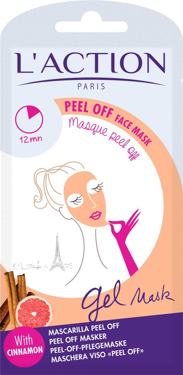 Laction Маска для лица отшелушивающая Peel Off face mask, 10 г660552Маска обладает очищающим и стягивающим поры действием. Формула обогащена цинамоном (пряная корица с острова Цейлон), который способствует обновлению клеток кожи. Маска делает кожу мягкой, гладкой и обновленной.