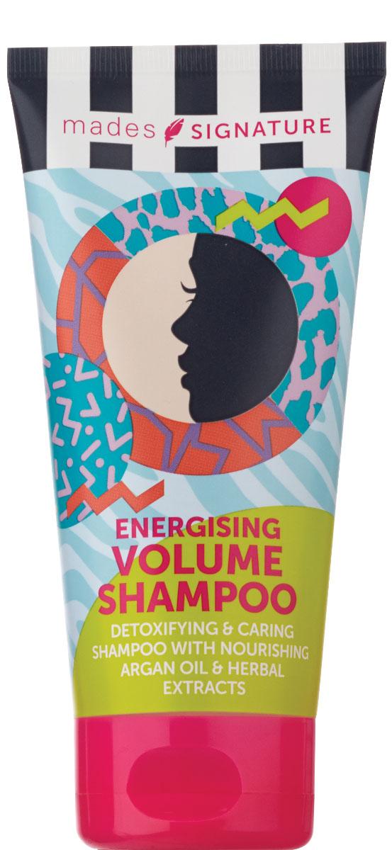 Mades cosmetics Шампунь для волос энергетический для придания объема, 150 мл4605845001470Обогащен питающим аргановым маслом и растительными экстрактами. Создает объем от корней волос.