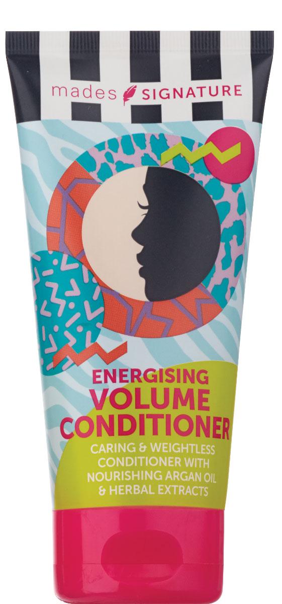 Mades cosmetics Кондиционер для волос энергетический для придания объема, 150 мл833965Содержит питающее аргановое масло, облегчает расчесываниеволос, создаетобъем. Средство предназначено для ухода за всеми типами волос.