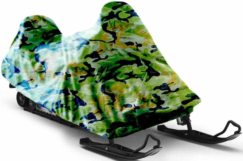 Чехол для снегохода Tplus Stels V800 Росомаха, цвет:PANTERA SPX-2RSРазмер (длина/ширина/высота): 3100х1500х1500 мм;Материал: оксфорд пл. 210 - обладает водоотталкивающими свойствами, повышенной прочностью и износоустойчивостью;Подходит для хранения.