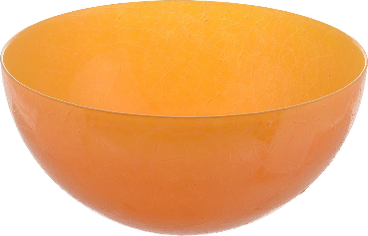 Салатник NiNaGlass Шеф, цвет: желто-оранжевый, диаметр 28 см115510Салатник NiNaGlass Шеф выполнен из высококачественного стекла. Он прекрасно подойдет для подачи различных блюд: закусок, салатов или фруктов. Изделие отлично впишется в интерьер вашей кухни и станет достойным дополнением к кухонному инвентарю. Не рекомендуется мыть в посудомоечной машине.Диаметр салатника (по верхнему краю): 28 см.Высота салатника: 13 см.