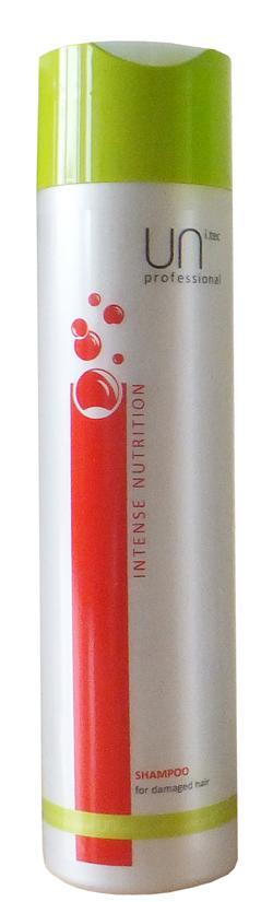Uni.tec Шампунь для поврежденных волос Intence Nutrition, 250 млБ33041_шампунь-барбарис и липа, скраб -черная смородинаМеханические и термические воздействия, истощение вследствие окрашивания, обесцвечивания или химической завивки приводят к повреждению волос: сухости, ломкости, отсутствию блеска и эластичности. Прогрессивное воздействие питательных компонентов восстанавливает гидролипидный баланс и внутреннюю структуру пористых, поврежденных волос. Применение: нанесите на влажные волосы от корней до кончиков легкими массирующими движениями, оставьте действовать на несколько минут, тщательно смойте теплой водой.