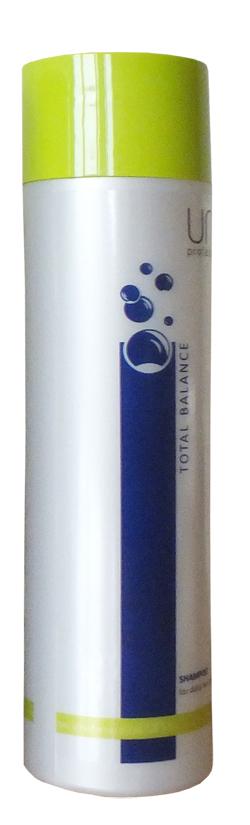 Uni.tec Шампунь для ежедневного ухода Total Balance, 250 млU0009Шампунь поддерживает силу волос, сохраняя природный уровень увлажнения изнутри, и придает натуральный блеск. Идеально подходит для ежедневного ухода за любым типом волос, а также для мягкого очищения перед окрашиванием или химической обработкой волос. Кондиционирующие компоненты придают волосам блеск и шелковистость, облегчают расчесывание, делают волосы мягкими и эластичными, оказывают антистатическое действие. Применение: нанесите на влажные волосы от корней до кончиков легкими массирующими движениями, оставьте действовать на несколько минут, тщательно смойте теплой водой.