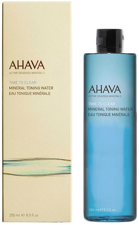 Ahava Time To Clear Минеральный тонизирующий лосьон 250 млFS-00897Минеральная тонирующая вода, обогащенная Osmoter™ и растительными экстрактами, восстанавливает естественный уровень pH, поддерживает водный баланс, успокаивает и освежает, подготавливая кожу для нанесения других средств ухода.
