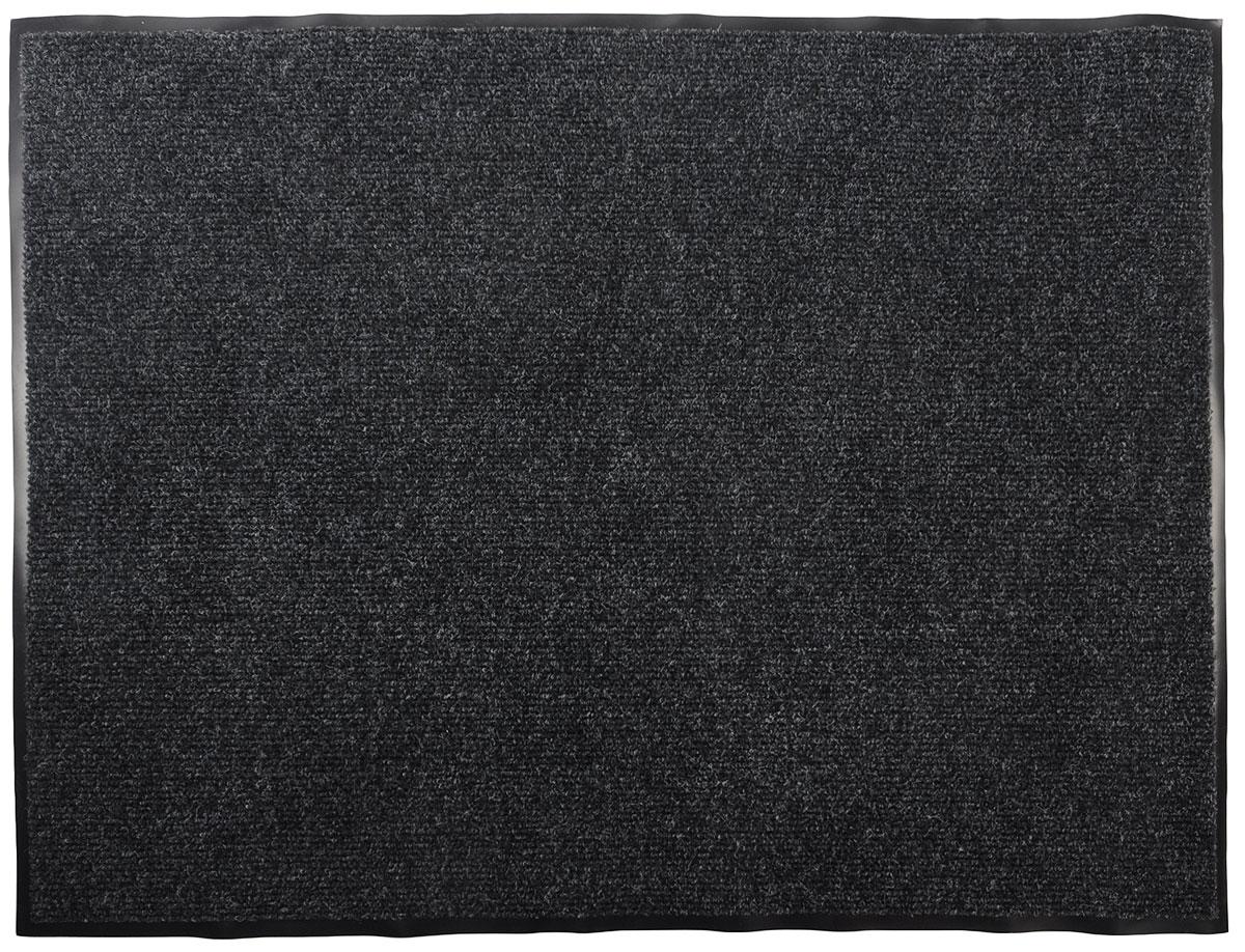 """Коврик придверный Vortex """"Профи"""", влаговпитывающий, цвет: серый, 90 х 120 см 22126"""