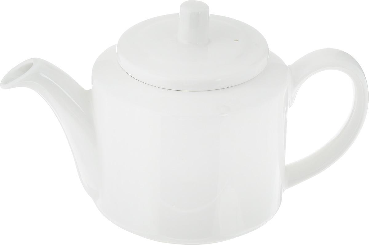 Чайник заварочный Ariane Прайм, 400 млCM000001328Заварочный чайник Ariane Прайм изготовлен из высококачественного фарфора. Глазурованное покрытие обеспечивает легкую очистку. Изделие прекрасно подходит для заваривания вкусного и ароматного чая, а также травяных настоев. Ситечко в основании носика препятствует попаданию чаинок в чашку. Оригинальный дизайн сделает чайник настоящим украшением стола. Он удобен в использовании и понравится каждому.Можно мыть в посудомоечной машине и использовать в микроволновой печи. Диаметр чайника (по верхнему краю): 6 см. Высота чайника (без учета крышки): 8 см.
