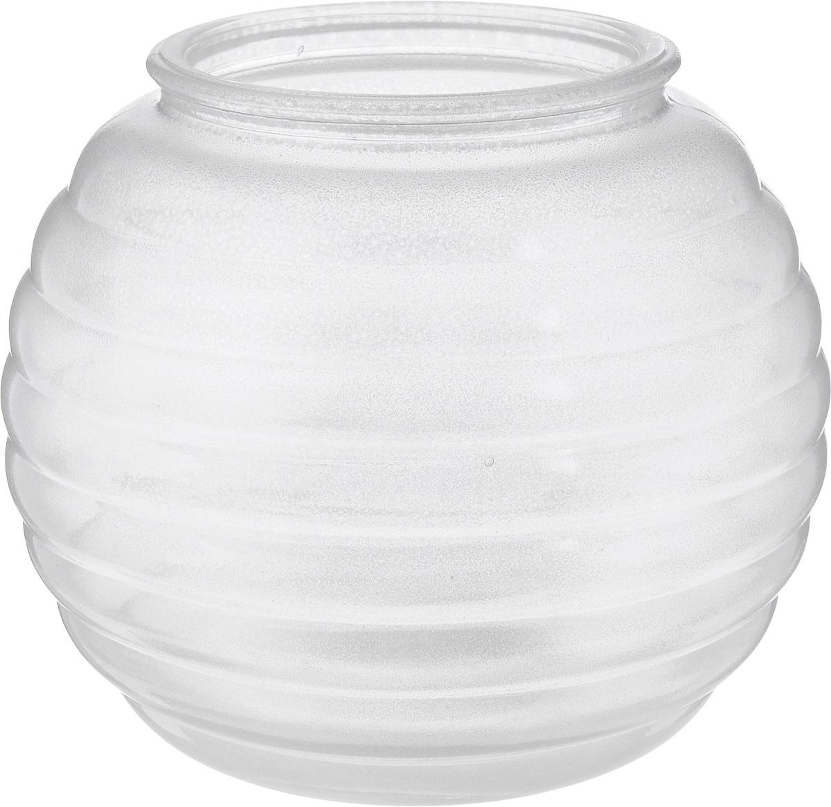 Ваза NiNaGlass Зара, цвет: серебряный, высота 13,3 см92-006_серебряныйВаза NiNaGlass Зара выполнена из высококачественного стекла и оформлена изящным рельефом. Такая ваза станет ярким украшением интерьера и прекрасным подарком к любому случаю. Высота вазы: 13,3 см. Диаметр вазы (по верхнему краю): 8 см.