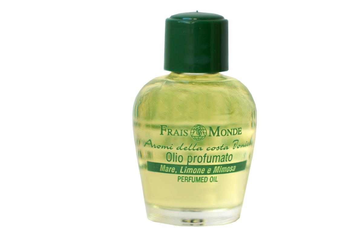 FraisMonde Парфюмерное масло Море, Лимонное дерево и Мимоза 12 мл.FMFOL01Это линия чудесных ароматов, созданных на основе чистых эфирных масел растений. В составе масел – только 100 % натуральные компоненты, минеральные соли, растительные консерванты и эмульгаторы. Не содержит спирта. Идеальная альтернатива спиртосодержащим духам и туалетным водам, дарит коже длительный, легкий и изысканный аромат. Не раздражает и не сушит кожу, расслабляет и успокаивает. Легкий цветочный аромат с нотками цитрусовых и свежего морского бриза.