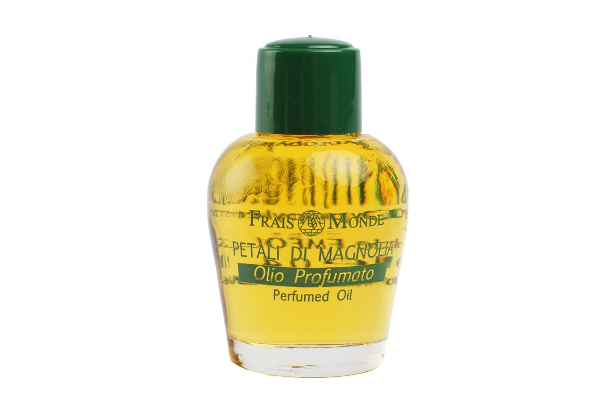 FraisMonde Парфюмерное масло Цветок магнолии 12 мл.FMFOL20Это линия чудесных ароматов, созданных на основе чистых эфирных масел растений. В составе масел – только 100 % натуральные компоненты, минеральные соли, растительные консерванты и эмульгаторы. Не содержит спирта. Идеальная альтернатива спиртосодержащим духам и туалетным водам, дарит коже длительный, легкий и изысканный аромат. Не раздражает и не сушит кожу, расслабляет и успокаивает. Нежный и уютный аромат магнолии.