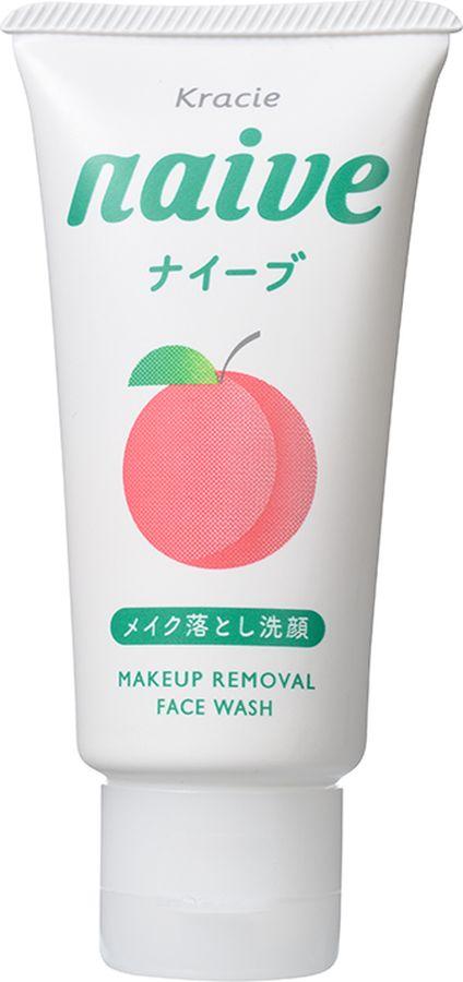 Kracie 512n Naive Пенка для умывания и удаления макияжа с экстрактом листьев персикового дерева 45 гБ33041_шампунь-барбарис и липа, скраб -черная смородинаПенка для умывания особой мелкой текстуры тщательносмывает кожный жир, глубоко очищает поры, удаляет макияж иподходит для ежедневного применения. Органический микс изкомпонентов 100 % растительного происхождения мягко очищает (орехмыльного дерева) и увлажняет (олива и корень алтея) кожу. Экстрактлистьев персикового дерева увлажняет, смягчает и разглаживает кожу.Благодаря маслу орехов макадамия в составе, пенка хорошо удаляет макияж.Не содержит парабенов, спиртов и красителей. С ароматом нежного персика.
