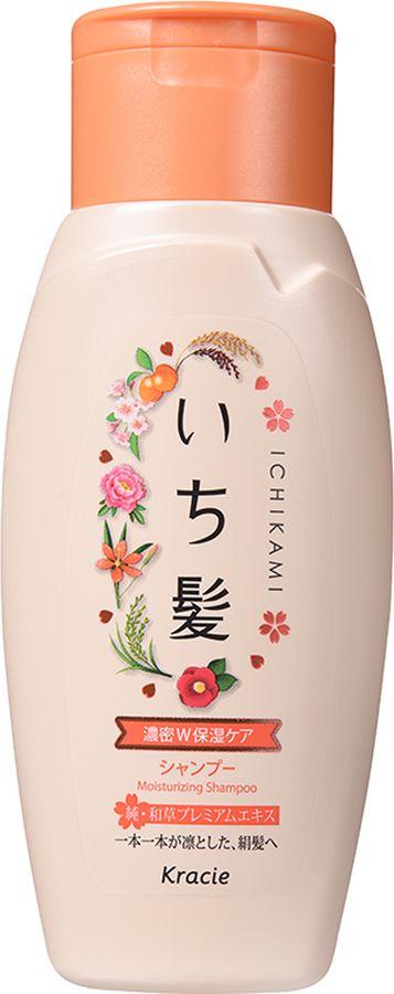 Kracie 72151kr Ichikami Шампунь интенсивно увлажняющий для поврежденных волос с маслом абрикоса 150 мл72151krНа протяжении многих веков красота женщины в Японии определялась, прежде всего, красотой и здоровьем ее волос. Уникальная формула натуральных экстрактов японских и китайских растений обеспечивает питательными и увлажняющими веществами, необходимыми для роста сильных и здоровых волос. Не содержит силикона и сульфатов. В составе: экстракт корня пиона древовидного, ферментированный черный рис ?, компонент Kome EX-S (отвар из отборного риса), экстракт фасоли угловатой, масло абрикоса, экстракт цветков чайного дерева, экстракт сакуры, экстракт камелии японской, экстракт беламканды китайской, экстракт мыльных орехов. С ароматом цветущей горной сакуры и сладкого абрикоса.