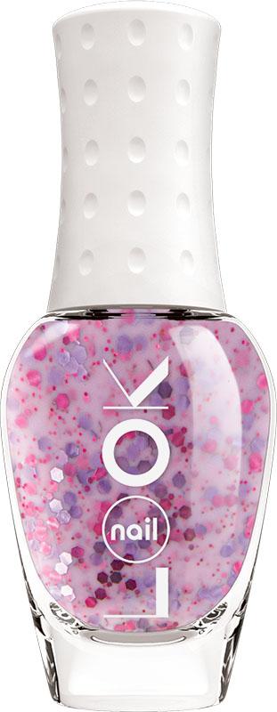 Nail LOOK Лак для ногтей Nail LOOK серии Yogurt, Blackcurrant violet, 8,5 млRA-Текстурные кремовые лаки. Сливочное лакомство с разнокалиберными частичками для любителей всего нового и необычного! Оттенок притягательный лавандовый с фиолетовыми и розовыми частичками. За счет текстуры маникюр будет идеальным и визуально ровным, даже на неровных и проблемных ногтях.