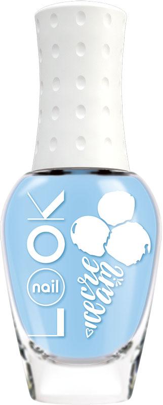 Nail LOOK Лак для ногтей Nail LOOK серии Yummy Ice Cream, Blue Marshmallow, 8,5 мл002722Лето-пора беззаботного веселья, отдыха, ярких нарядов и буйства красок. В жаркую погоду хочется побаловать себя чем то вкусным и освежающим. Представляем игривую и вкусную летнюю коллекцию Yummy Ice Cream. Воздушный и притягательный, как любимый девичий десерт. Этот насыщенный голубой оттенок выйграшно смотрится и с легким платьем, и с шортами из денима.