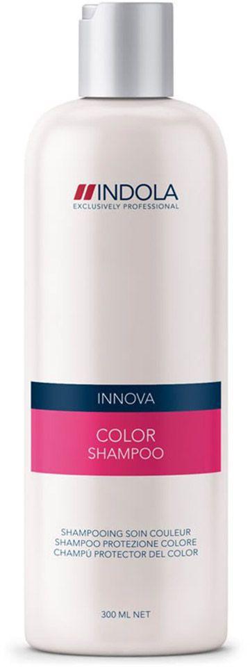 Indola Шампунь для окрашенных волос Color Shampoo 300 млMP59.3DIndola Шампунь для окрашенных волос. Очищает волосы и сохраняет яркость цвета. Обогащен минеральным экстрактом, УФ-фильтром и гидролизованным кератином. Защищает волосы от потери цвета. Подходит для ежедневного применения. Рекомендуется использовать в комплексе с кондиционером или двухфазным кондиционером Indola Color.